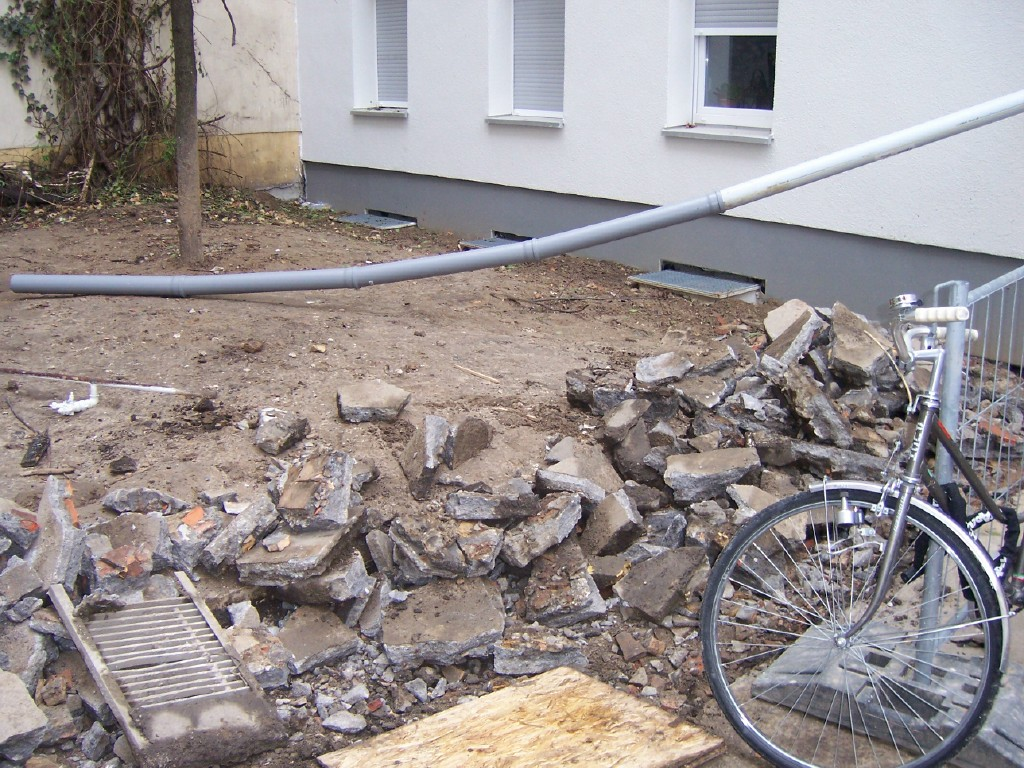 Gestaltung Hinterhof berlin